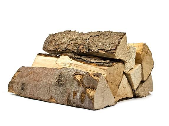 Brennholz Fichte - Kiefer, ofenfertig in Transportkisten