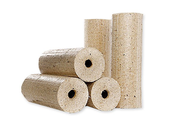 Holzbriketts in Premium Qualität mit Zugloch